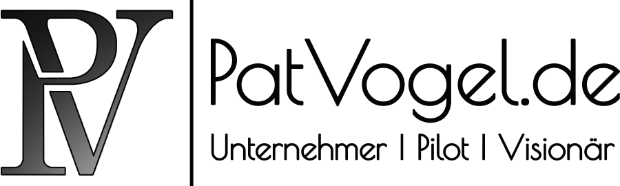 Pat Vogel Unternehmer Pilot Visionär 123123